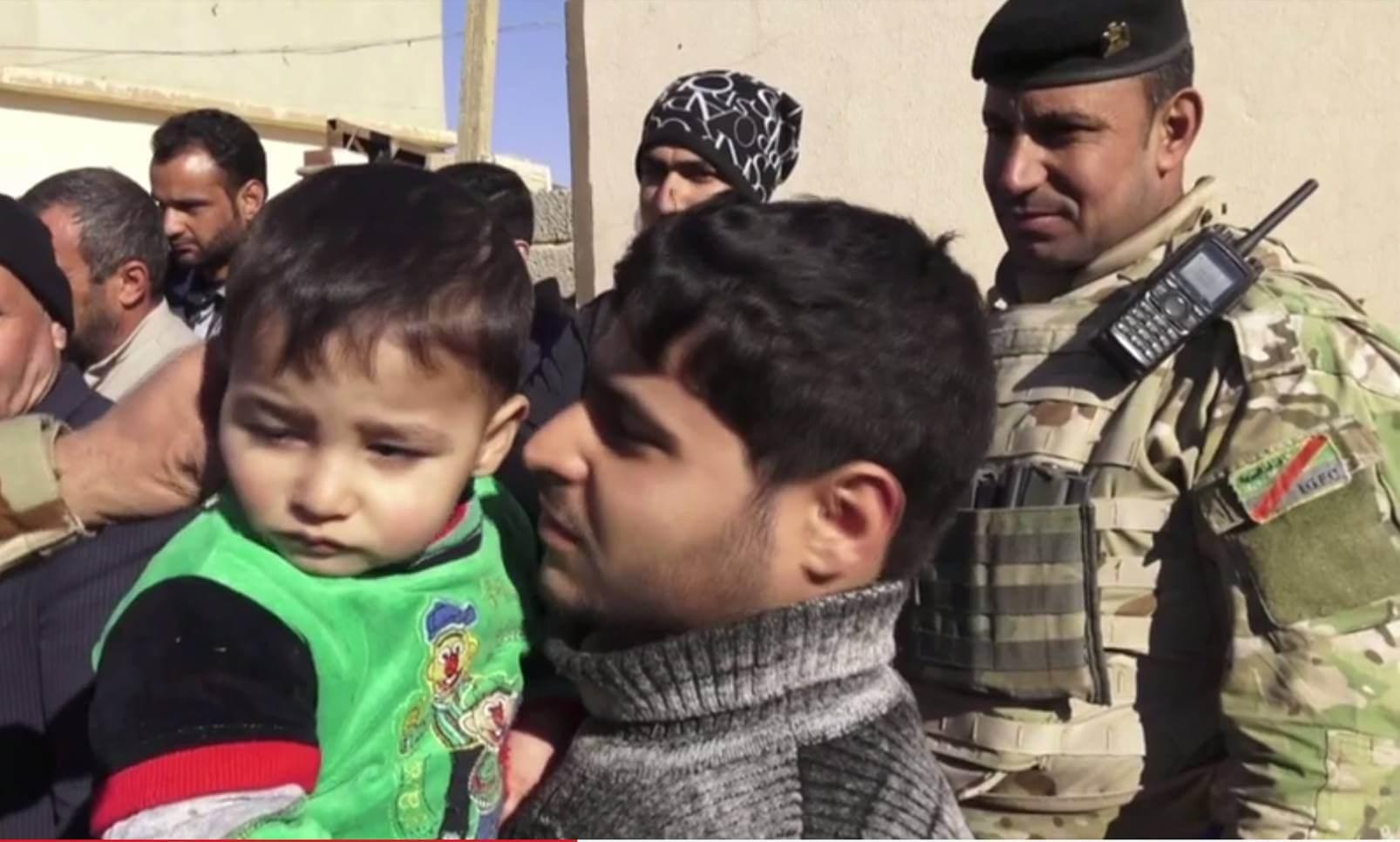 Unique Mosul footage
