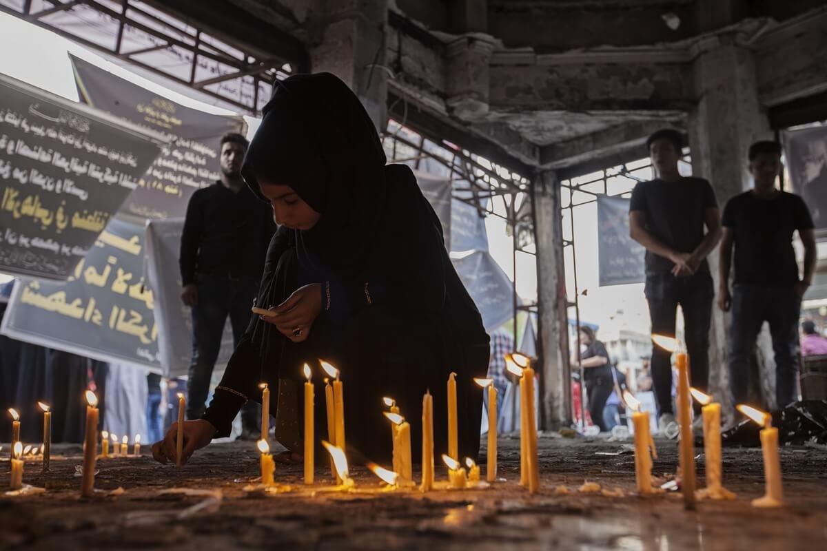 Blast in Karada-Baghdad, Iraq 2016