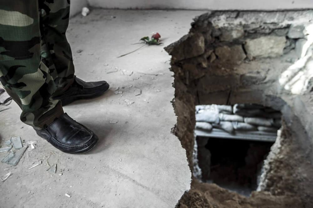 Destructed Sinjar, Iraq 2016