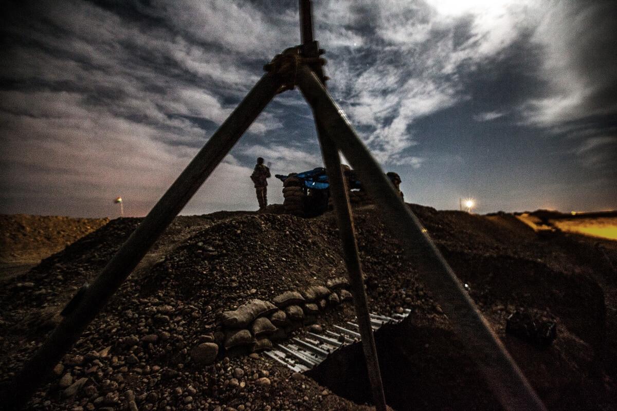 Frontline near the city of Kirkuk, Iraq 2015
