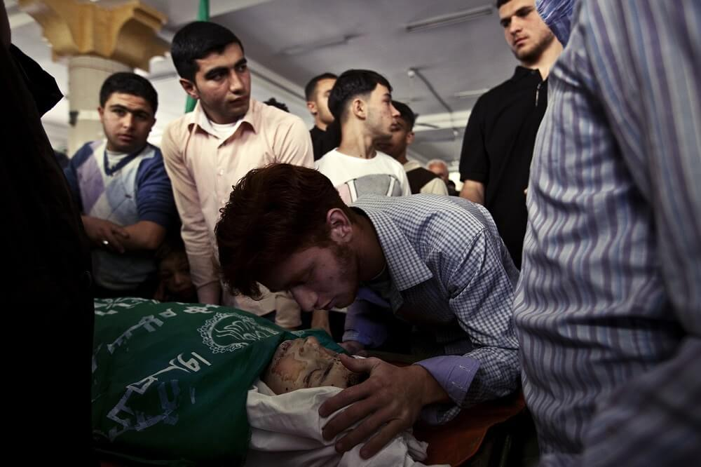 Funeral, Gaza strip 2011