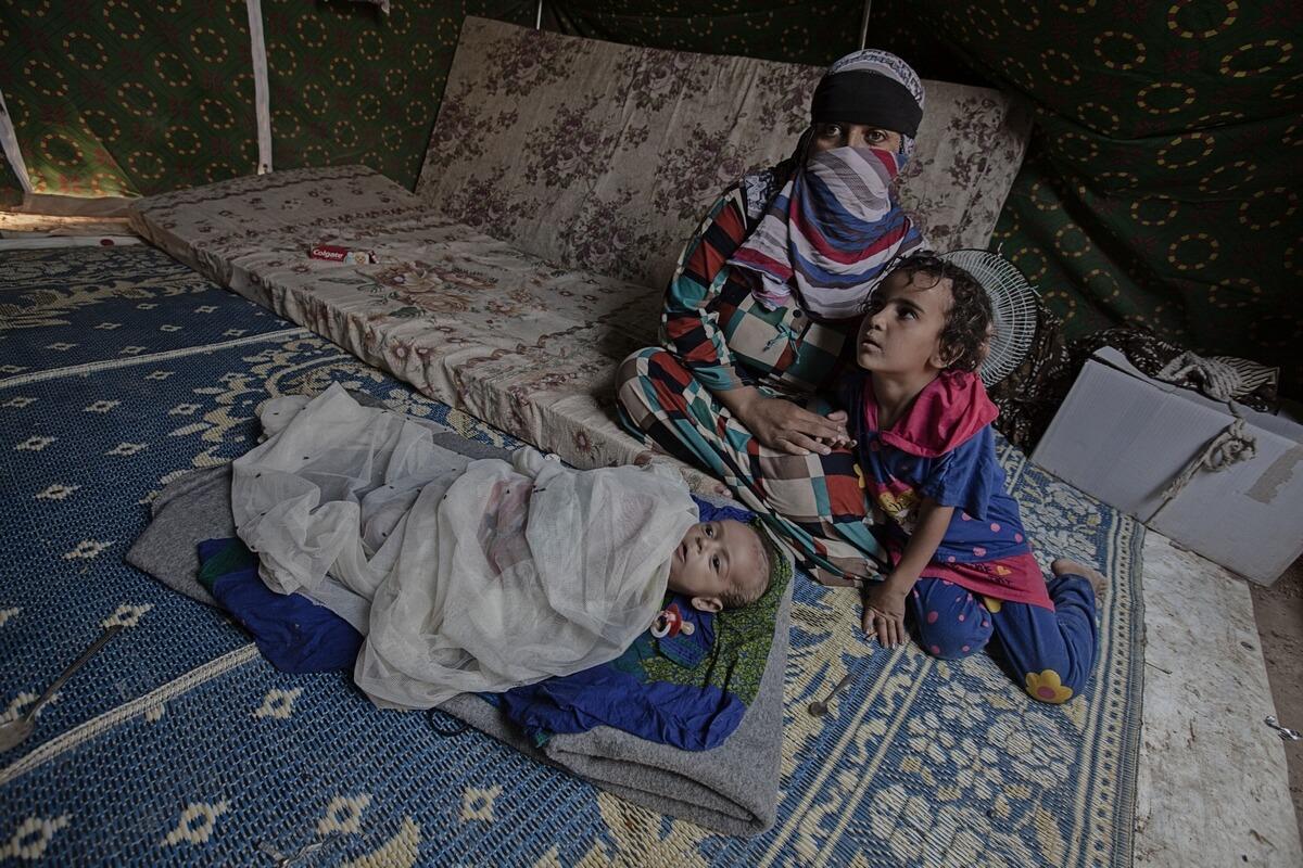 Refugees - Iraq 2015