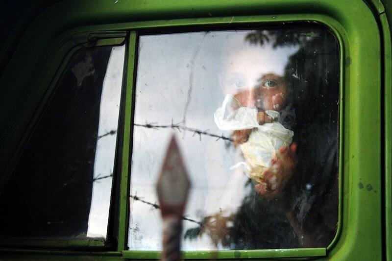 Street kids in Odessa, Ukraine 2006