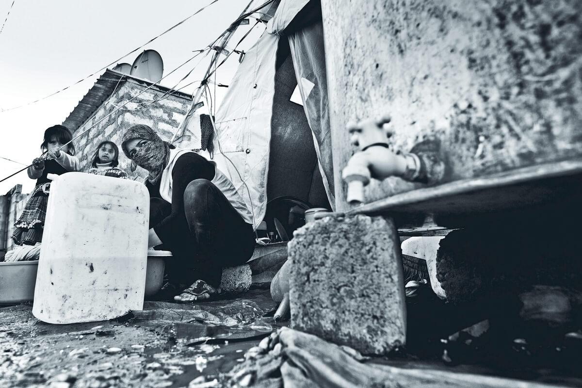 Syrian refugee camp near Dohuk, Iraq 2012