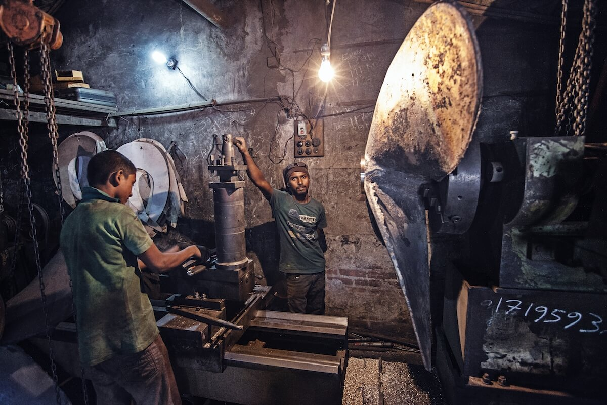 Workers in Dhaka, Bangladesh 2015